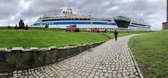 The cruise ship Aida