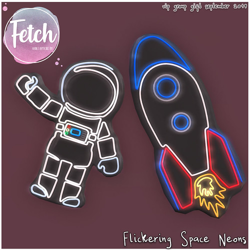 [Fetch] Space Neons - September VIP