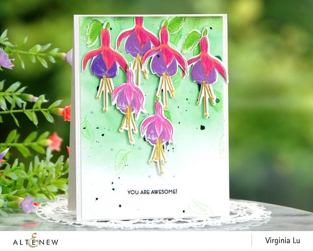 Altenew-BAF Fuchsia-Virginia#2