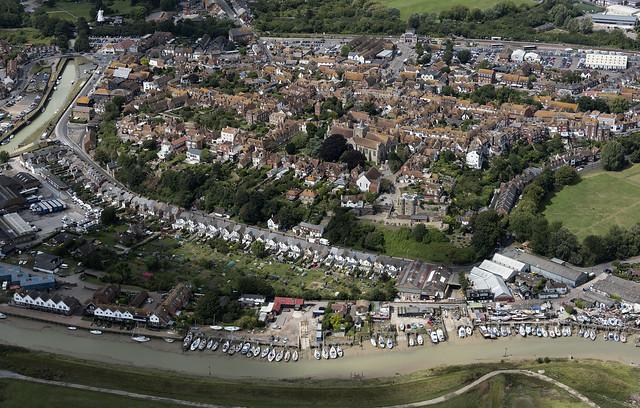 Rye aerial image - East Sussex