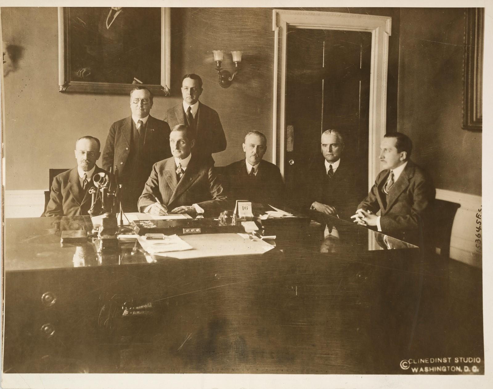 11. Делегация военной комиссии в Нью-Йорке