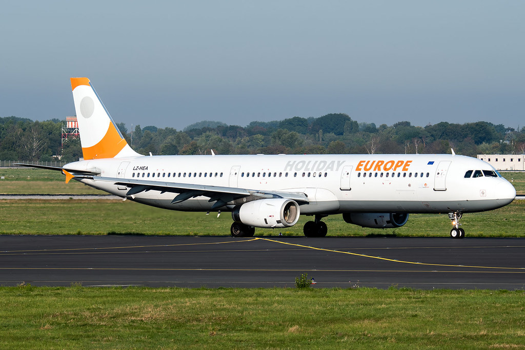 LZ-HEA | Airbus A321-231 | Holiday Europe