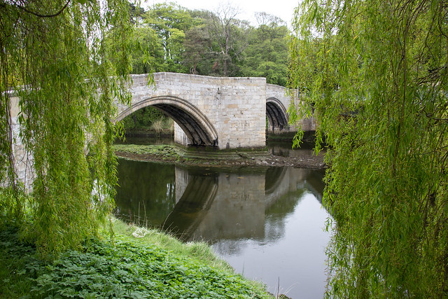 Medieval Bridge, Warkworth, England