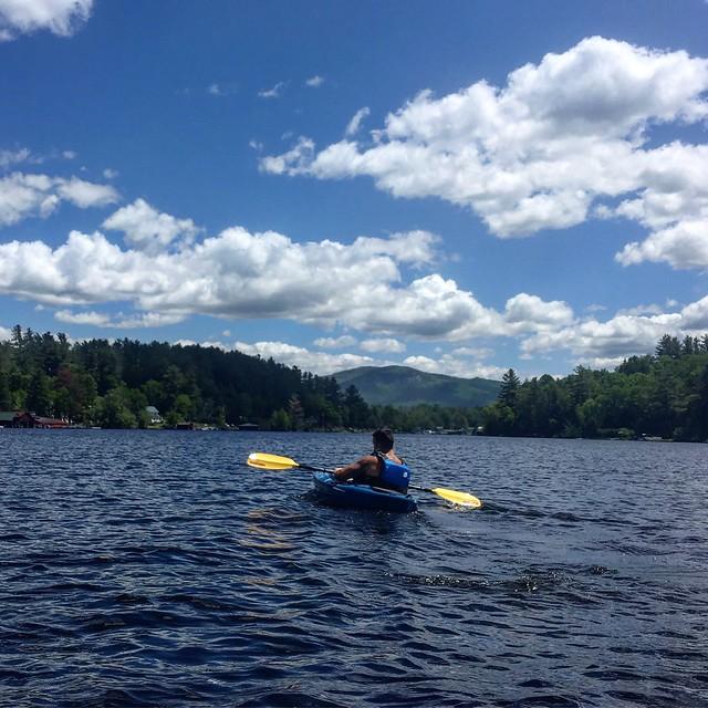 Saranac Lake  New York  - Kayaking
