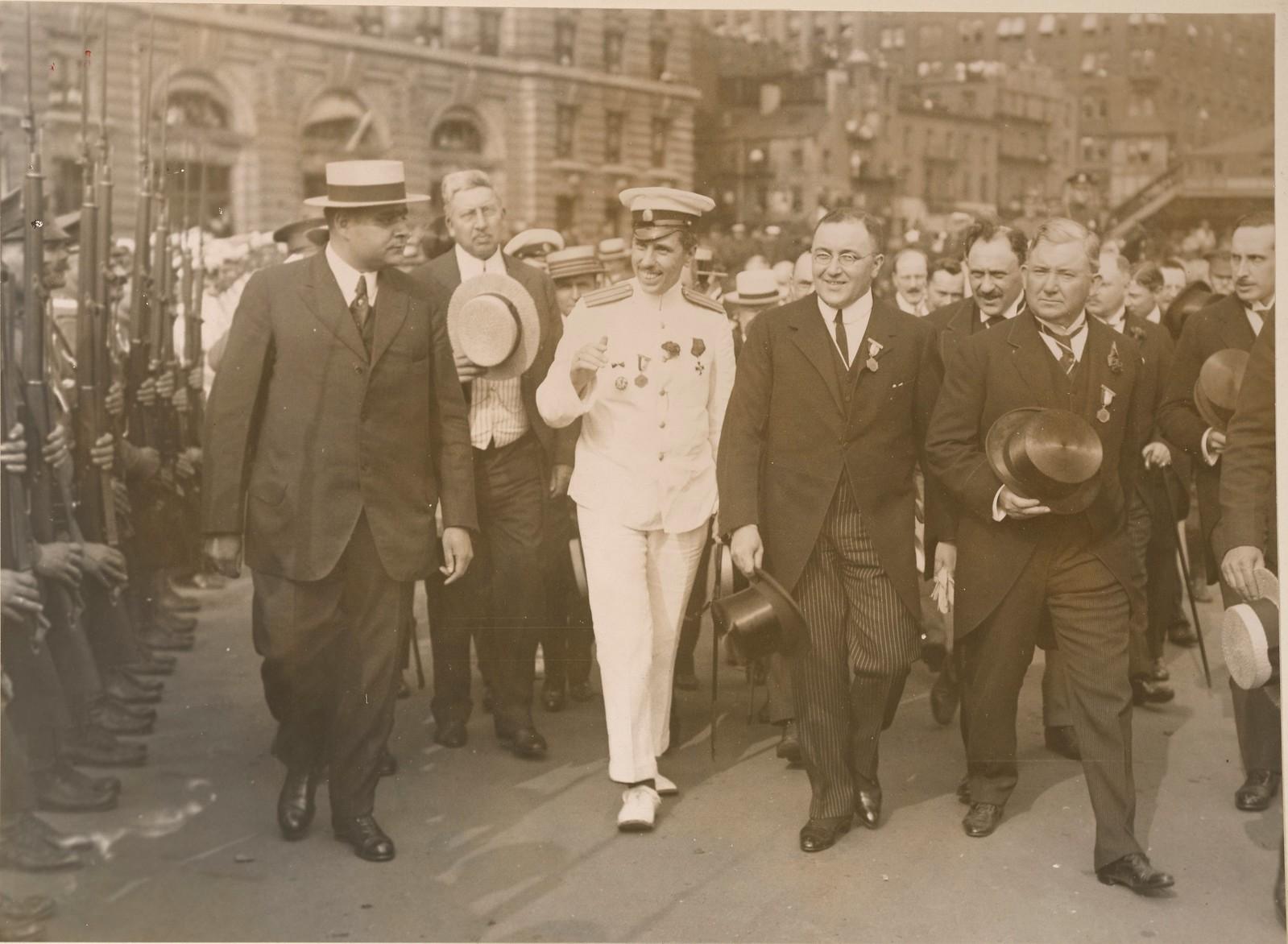 1917. Делегация военной комиссии Временного комитета Государственной думы в Америке