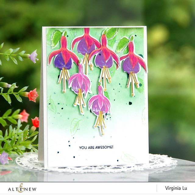 Altenew-BAF Fuchsia-Virginia#1
