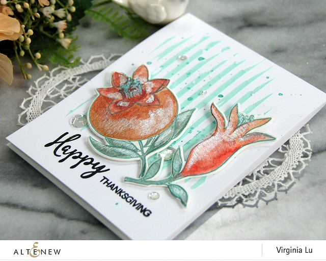 Altenew-MetallicWatercolorPan Set-HappyPomegranates-Virginia#3