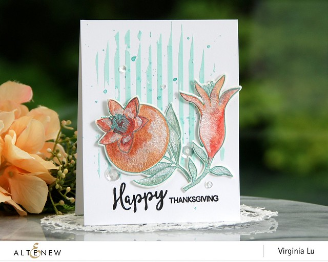 Altenew-MetallicWatercolorPan Set-HappyPomegranates-Virginia#2