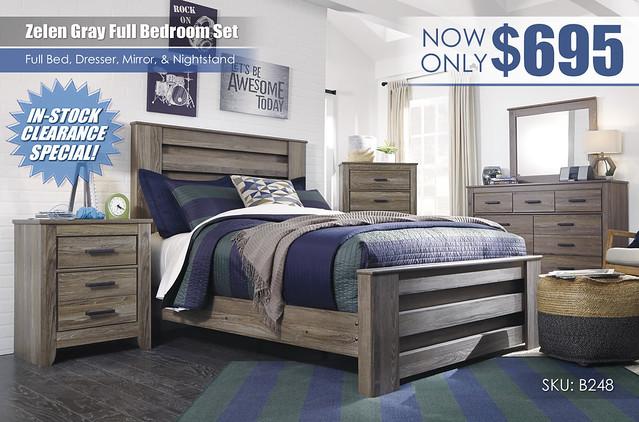 Zelen Full Bedroom Set_B248_StampedFLAT