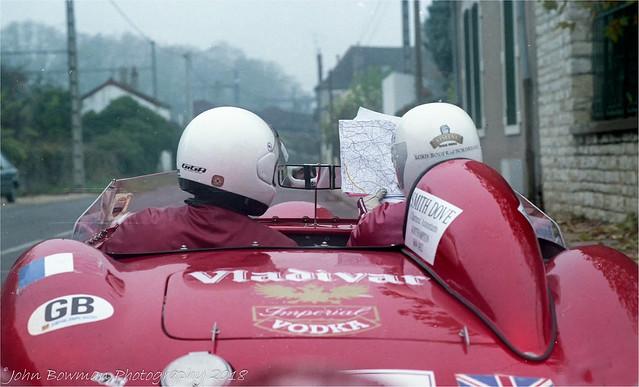 Lost In France. ( Maserati 300s Beaujolais Run 1990)