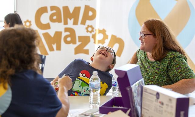 Four Diamonds children experience Camp Amazon