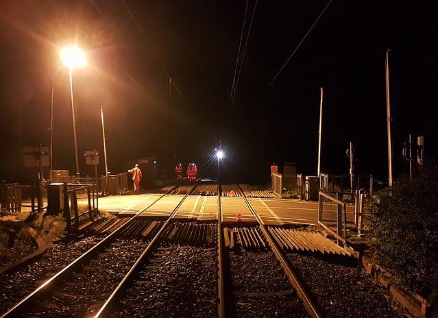 Track Work Night Shift - Stamford Crossing