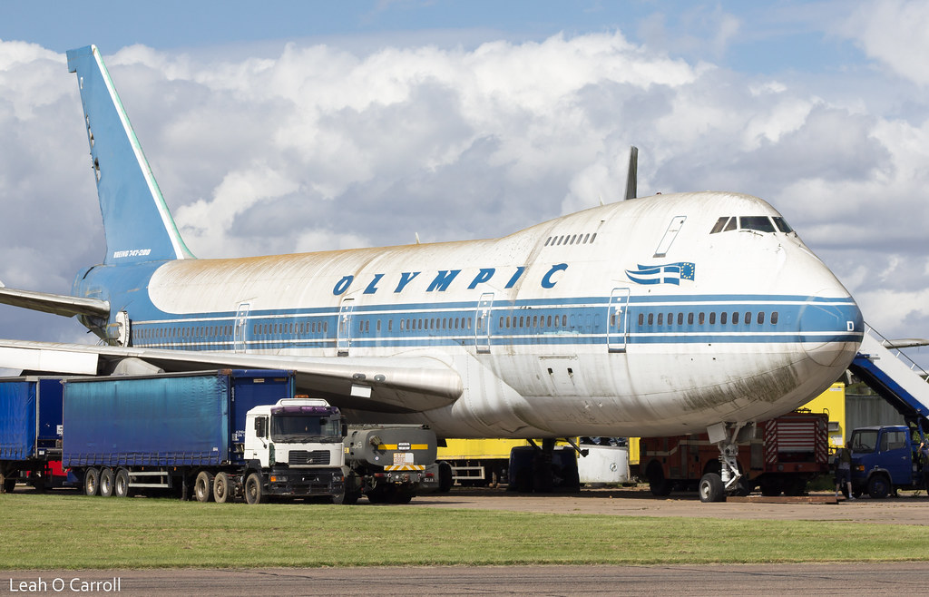 Olympic Airways B747-200 SX-OAD