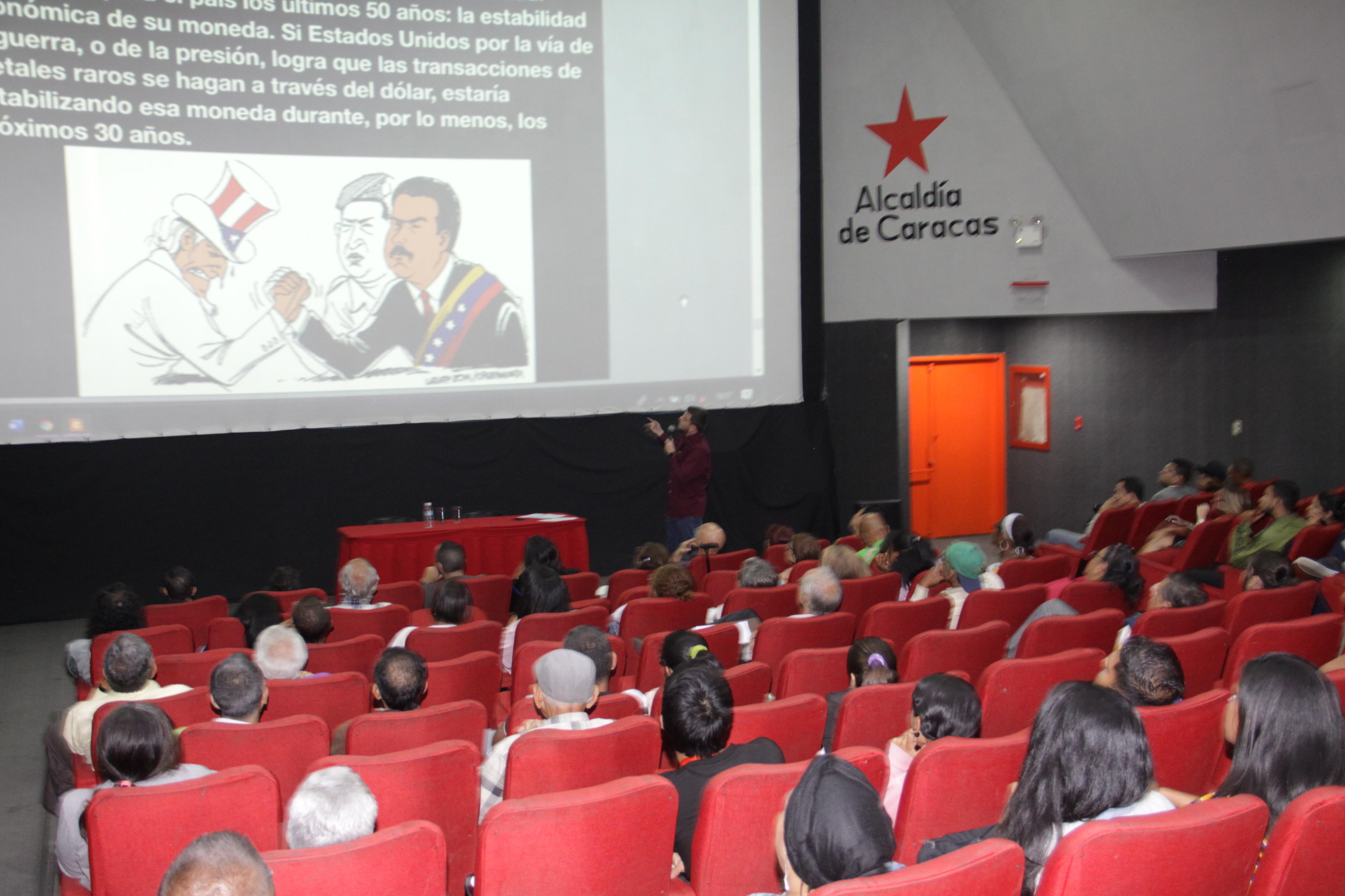Disertan sobre la importancia geoestratégica de Venezuela y América Latina en Seminario de Geopolítica
