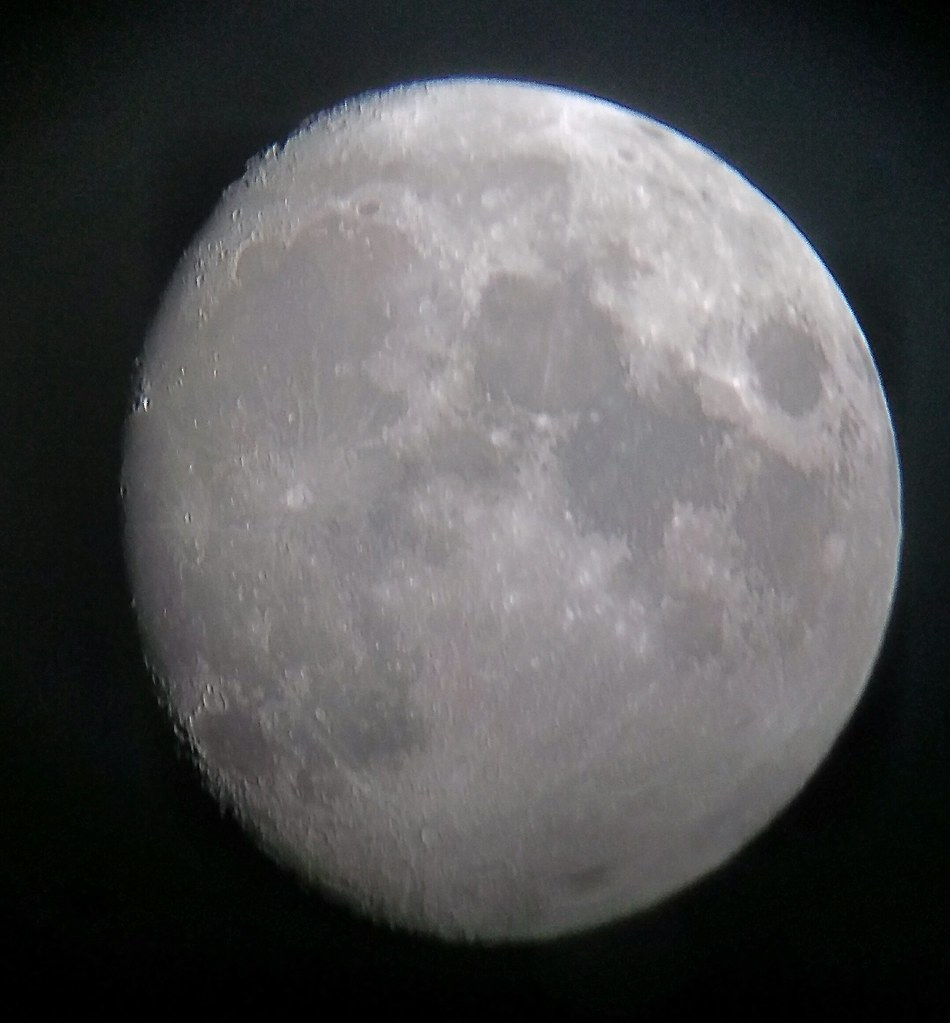 Moon - night enhanced 9-10-2019