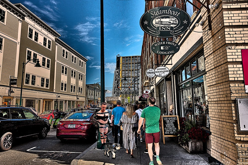 The City of Mystic has passed an ordinance allowing a dog to duct-tape his human to a lamp post, while Rover imbibes local craft beers at his favorite watering hole.