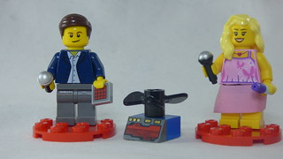 Brick Yourself Custom Lego Figures - Man with Drone & Lady with Lipstick | by BrickManDan