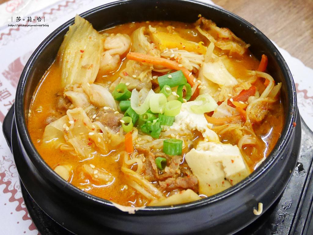新店餐廳推薦朝鮮味韓國料理小菜吃到飽有素食全素料理 (2)