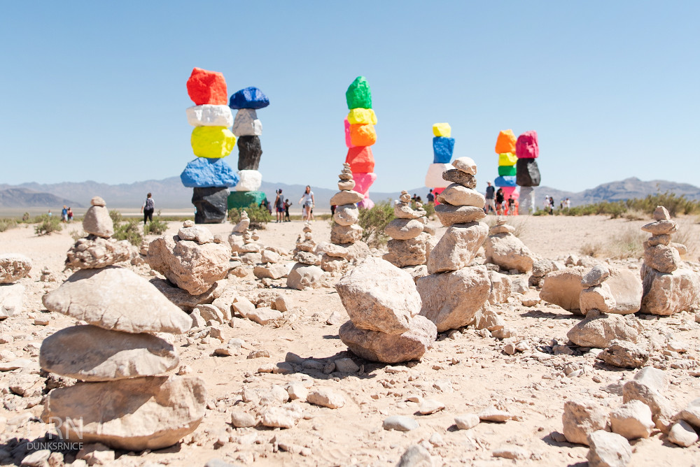 Seven Magic Mountains.
