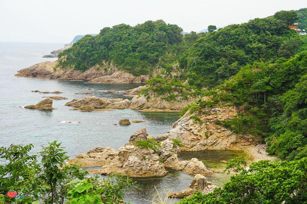 【鳥取自由行景點】日本百景浦富海岸,自駕租超小型EV電動車コムス!