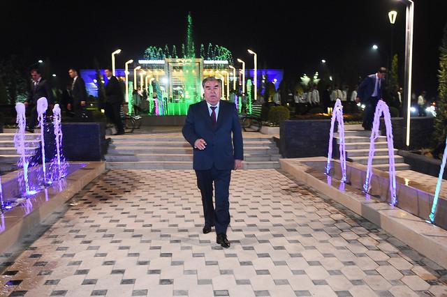 Ба истифода додани боғи фарҳангию фароғатии Хуталон дар шаҳри Кӯлоб  10.09.2019