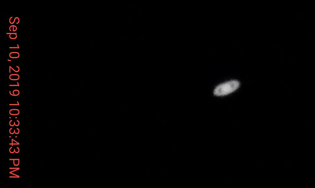 Saturn - inverted  9-10-2019