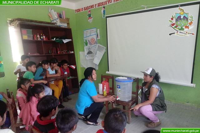 Madres de familia y estudiantes son capacitados para disminuir anemia en Echarati