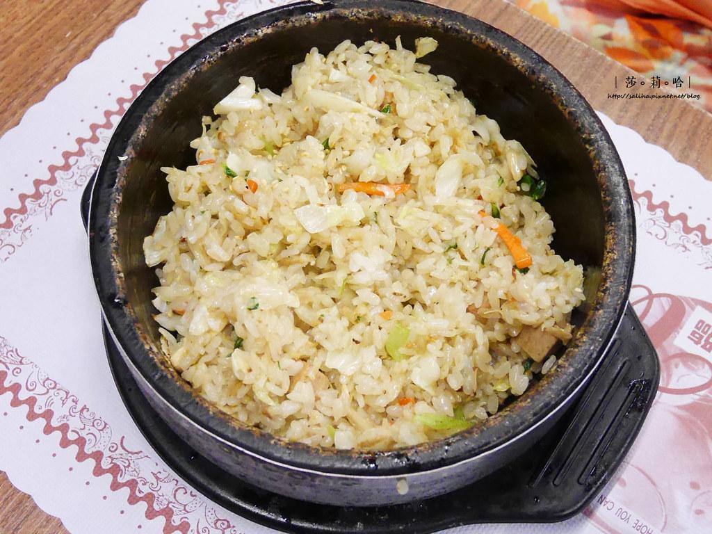 新店餐廳推薦朝鮮味韓國料理小菜吃到飽有素食全素料理 (3)