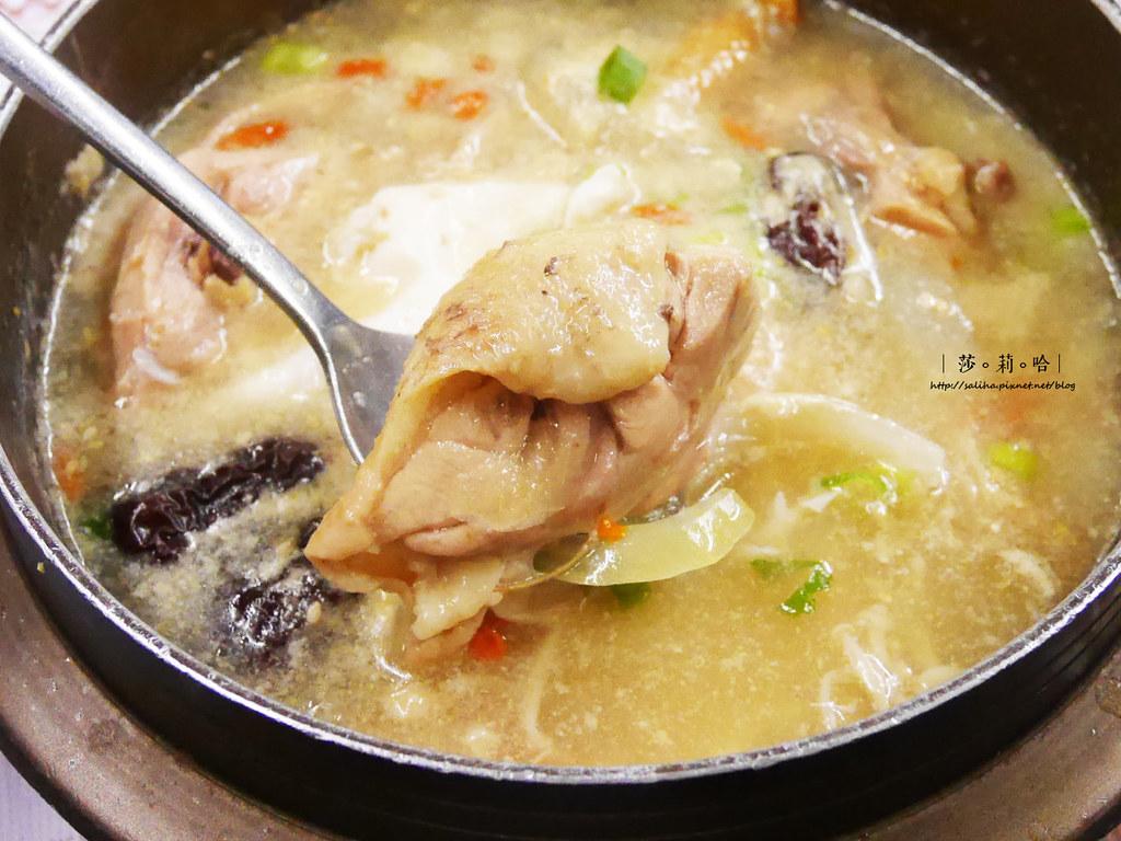新店餐廳推薦朝鮮味韓國料理小菜吃到飽好吃人蔘雞湯 (2)