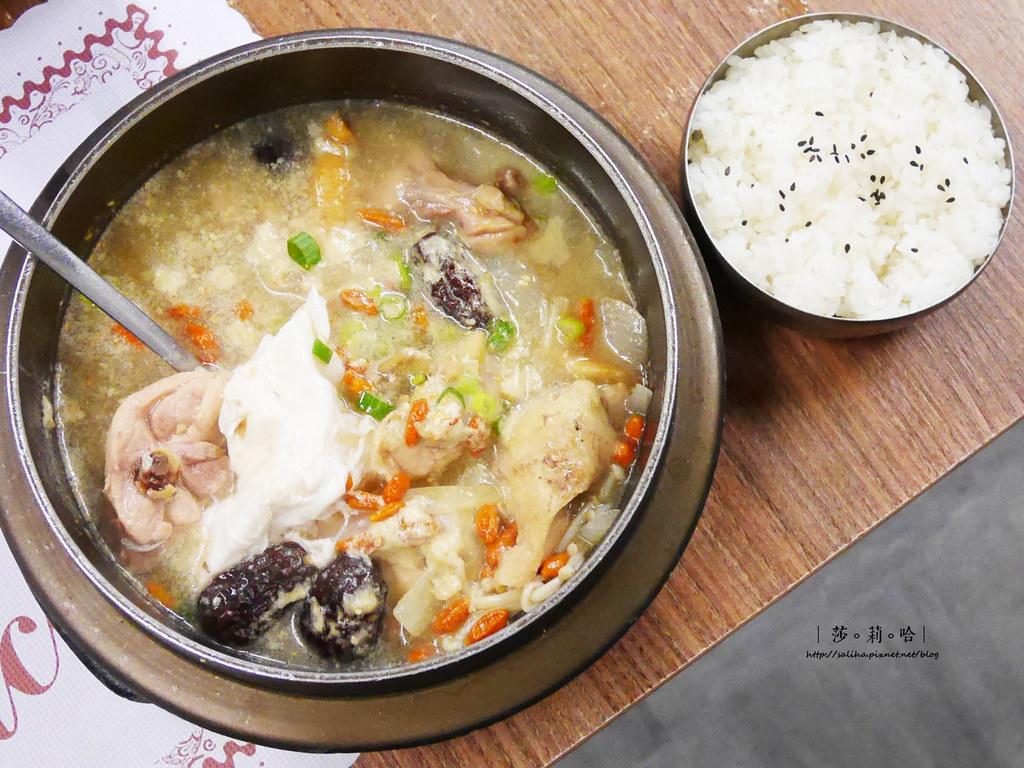 新店餐廳推薦朝鮮味韓國料理小菜吃到飽好吃人蔘雞湯 (1)