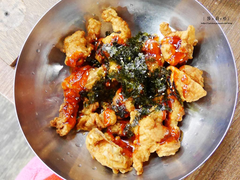 新店大坪林站朝鮮味韓式炸雞