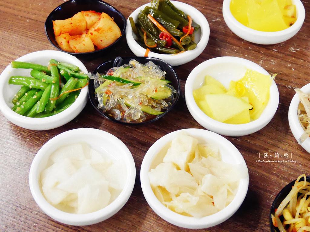 新店大坪林站好吃朝鮮味韓國餐廳韓式料理個人小火鍋 (2)