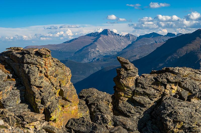 Longs Peak from Rock Cut