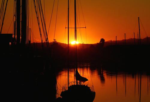A Northern California sunrise