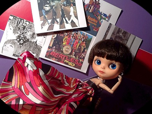 Blythe-a-Day #1 Love: Nylah & The Beatles