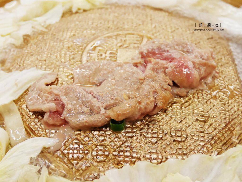 新店大坪林站朝鮮味韓國料理韓式銅盤烤肉好吃餐廳 (1)