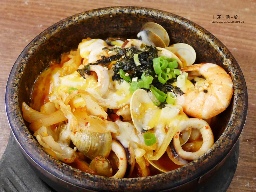 新店大坪林站好吃朝鮮味韓國餐廳韓式料理個人小火鍋 (4)