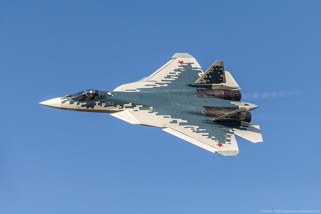 Su-57 (Т-50-4) multi-role fighter