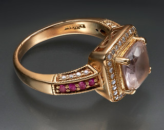 LeVian 14K Rose God Ring