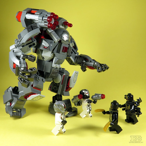 LEGO 76124 Marvel Avengers War Machine Buster Review-28 | by DoubleBrick.ru