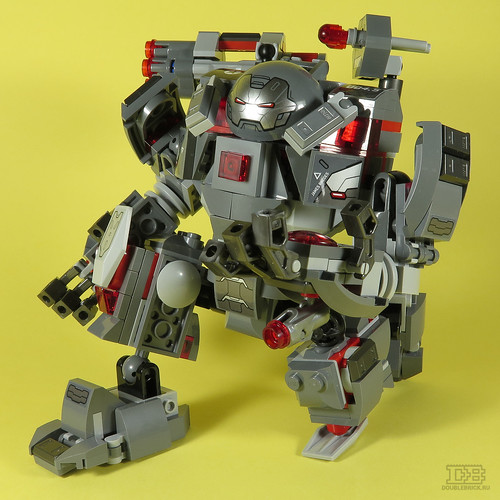 LEGO 76124 Marvel Avengers War Machine Buster Review-10 | by DoubleBrick.ru