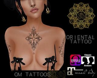 ::: UPDATE ::: ++ OM TATTOOS ++ Oriental Tattoo - Box