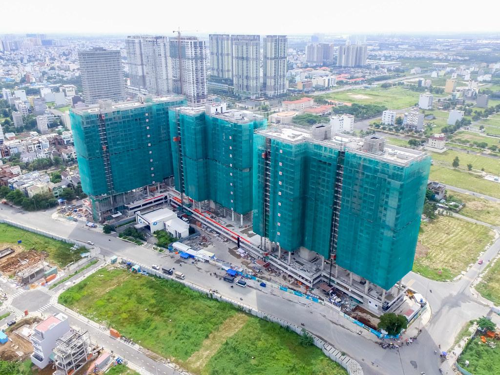 Dự án căn hộ One Verandah quận 2 đã xây dựng đến đâu 09-2019 7