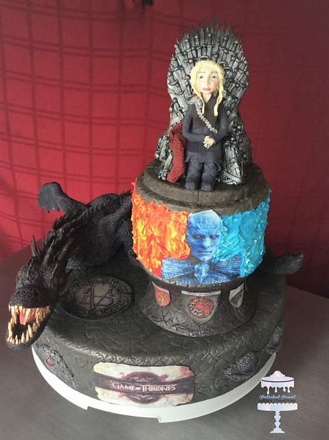 GOT Themed Cake by Polished Pearl Cakes & Confections