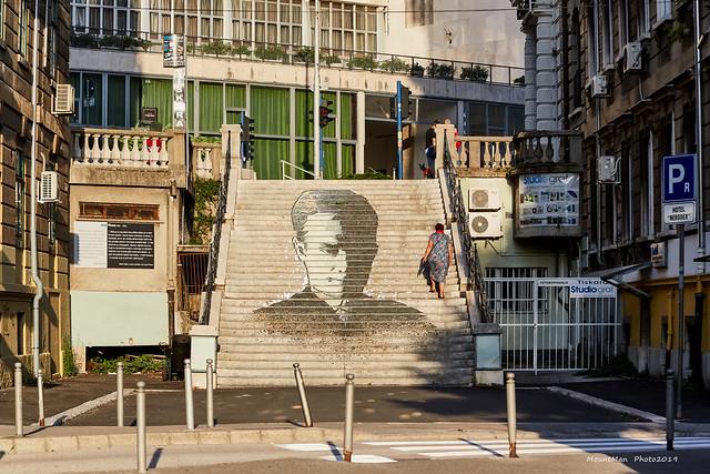 Rijeka: portret na stubama