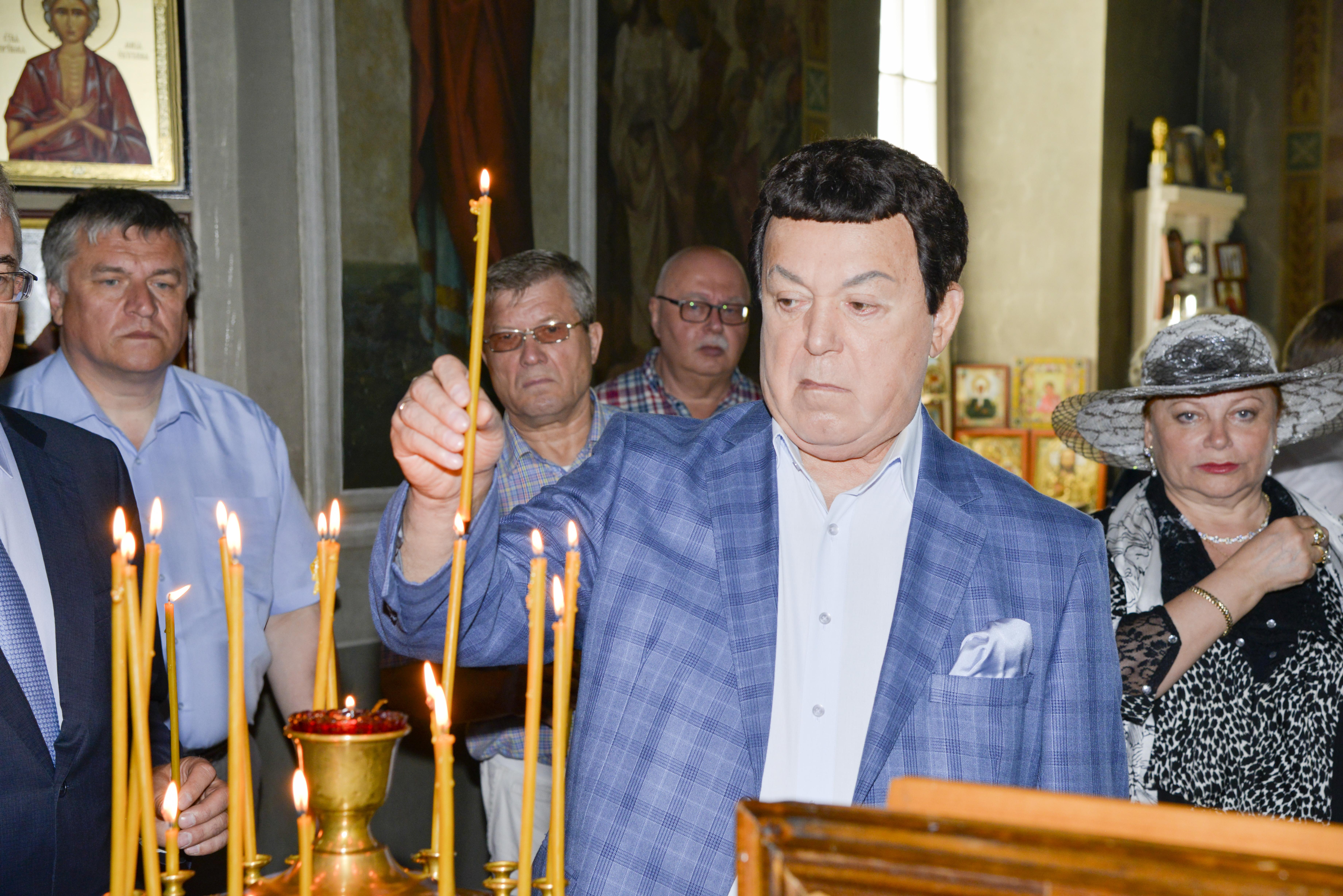 Иосиф Давыдович Кобзон в Тарханах. Памяти Иосифа Давыдовича