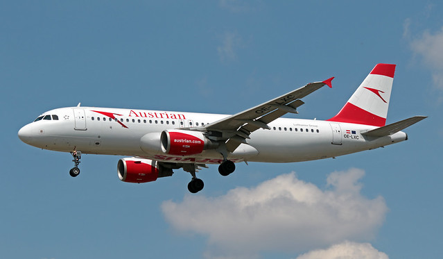 OE-LXC EGLL 16-07-2019 Austrian Airlines Airbus A320-216 CN 3502
