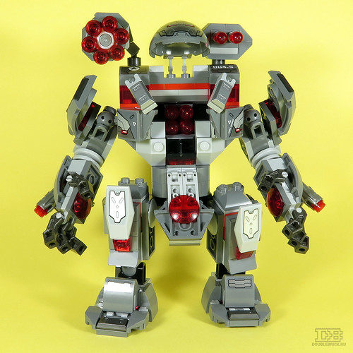 LEGO 76124 Marvel Avengers War Machine Buster Review-3 | by DoubleBrick.ru