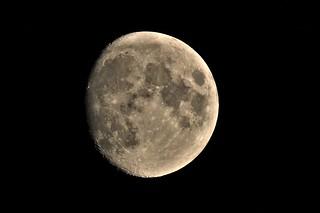 DSC02749 (2) Waxing Gibbous Moon 92.4%
