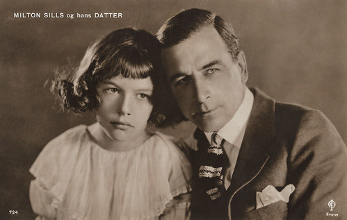 Milton Sills and Daughter